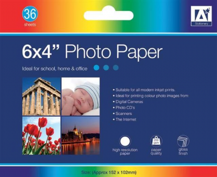 "Anker Stationery 6x4"" Photo Paper"
